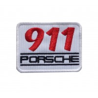 1078 Patch emblema bordado 8x6 PORSCHE 911