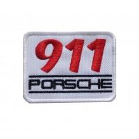 1078 Patch écusson brodé 8x6 PORSCHE 911