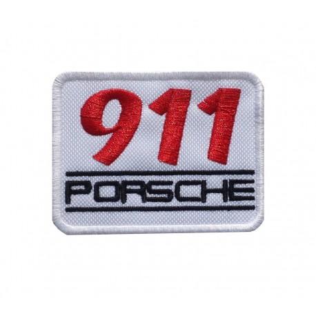 1078 Embroidered patch 8x6 PORSCHE 911
