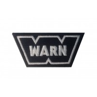 0487 Embroidered patch 9x5 WARN