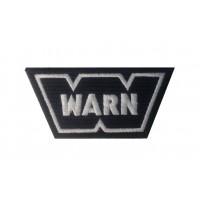 0487 Patch emblema bordado 9x5 WARN