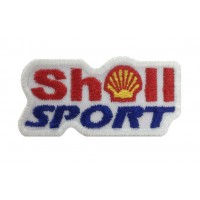 0292 Embroidered patch 6X3 SHELL SPORT
