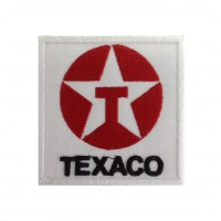 0255 Embroidered patch 7x7 TEXACO