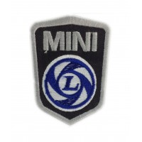 0222 Embroidered patch 9x6 MINI LEYLAND