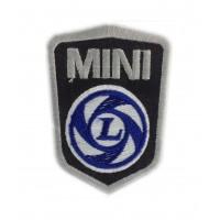 0222 Parche emblema bordado 9x6 MINI LEYLAND