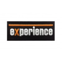 0928 Patch emblema bordado 10x4 LAND ROVER EXPERIENCE