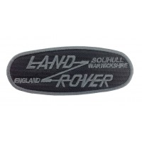 0577 Embroidered patch 12x5 LAND ROVER SOLIHULL WARWICKSHIRE