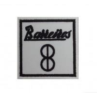 1521 Patch emblema bordado 7x7 BARREIROS