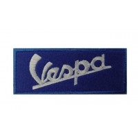 0181 Embroidered patch 10x4 VESPA