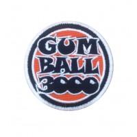 1526 Patch emblema bordado 7x7 GUMBALL 3000