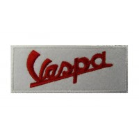 0182 Embroidered patch 10x4 VESPA