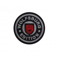 1535 Embroidered patch 6X6  VW WOLFSBURG EDITION
