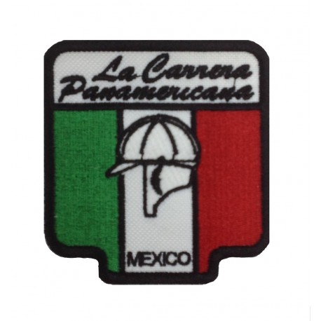 1538 Patch emblema bordado 8x8 LA CARRERA PANAMERICANA MEXICO