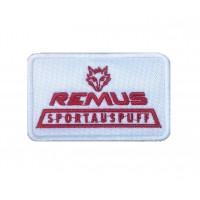 1543 Patch emblema bordado 9x6 REMUS SPORTAUSPUFF