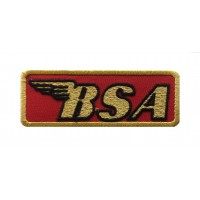 1548 Embroidered patch sew on 9X3 BSA