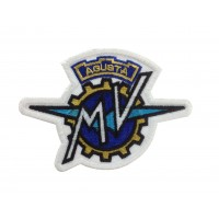 1550 Embroidered patch sew on 11X8 MV AGUSTA