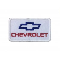 1555 Embroidered patch sew on 8X4 CHEVROLET