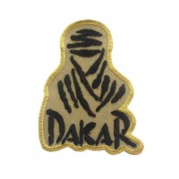 0045 Patch emblema bordado 8x6,5 Touareg Paris DAKAR