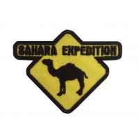 0919 Embroidered patch 9x7 SAHARA EXPEDITION