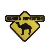 0919 Patch emblema bordado 9x7 SAHARA EXPEDITION