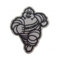 0843 Patch emblema bordado 9x7 MICHELIN BIBENDUM blanco