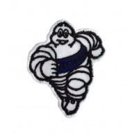1016 Embroidered patch 9x7 MICHELIN BIBENDUM royal blue