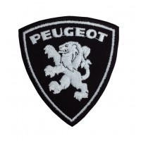 1562 Embroidered patch sew on 9x7 PEUGEOT 1950