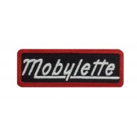 1564 Embroidered patch 8X3 MOBYLETTE