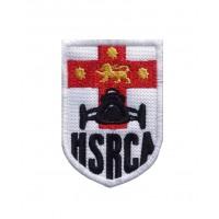 1565 Patch écusson brodé 7x5 HRSCA HISTORIC SPORTS and RACING CAR ASSOCIATION