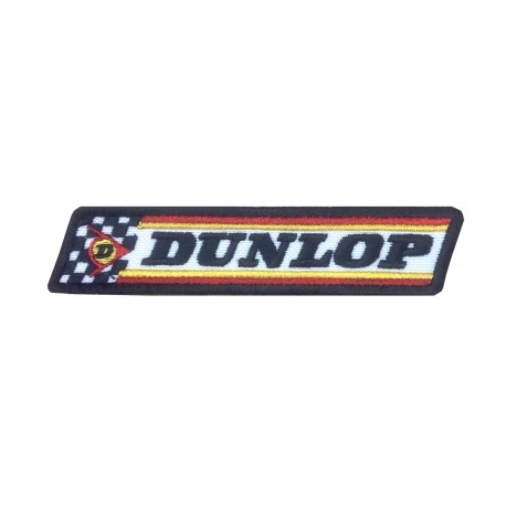 1566 Embroidered patch 12x3 DUNLOP