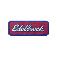 1567 Embroidered patch 10x3 EDELBROCK