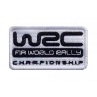 1574 Patch écusson brodé 8X5 WRC FIA WORLD RALLY CHAMPIONSHIP