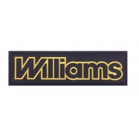 1580 Embroidered patch 27x8 WILLIAMS