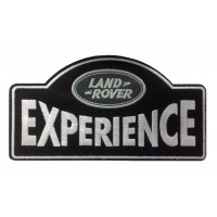0300 Embroidered patch 23X13 LAND ROVER EXPERIENCE