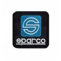0318 Patch écusson brodé 6X6 SPARCO
