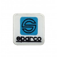 0509 Embroidered patch 6X6 SPARCO