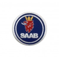 1124 Embroidered patch 6X6 SAAB 2000