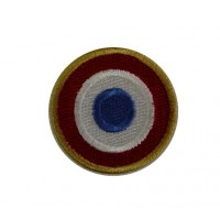 0193 Embroidered patch 4x4 French flag VESPA PIAGGIO