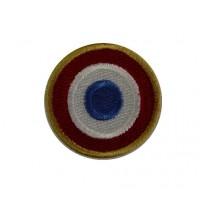 0193 Patch emblema bordado 4x4 bandeira França VESPA PIAGGIO