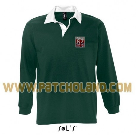 1629 LOTUS 1967 VINTAGE Rugby Polo shirt long sleeve PACK