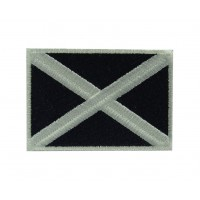 0212 Embroidered patch 7X5 flag SCOTLAND