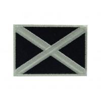 Patch emblema bordado 7X5 bandeira ESCÓCIA