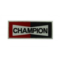 0213 Parche emblema bordado 10x4 CHAMPION