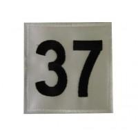 0219 Patch emblema bordado 7x7 MINI MONTE-CARLO nº 37