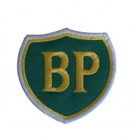 0338 Embroidered patch 7x7 BP British Petroleum