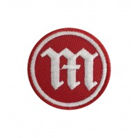 0886 Embroidered patch 5X5 MONTESA