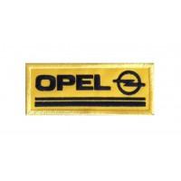 0836 Patch emblema bordado 10x4 OPEL