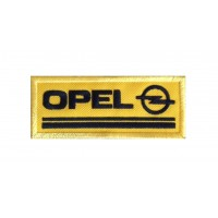 0836 Embroidered patch 10x4 OPEL