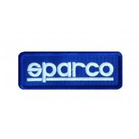1064 Patch écusson brodé 9X3 SPARCO