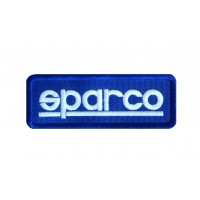 1064 Patch emblema bordado 9X3 SPARCO